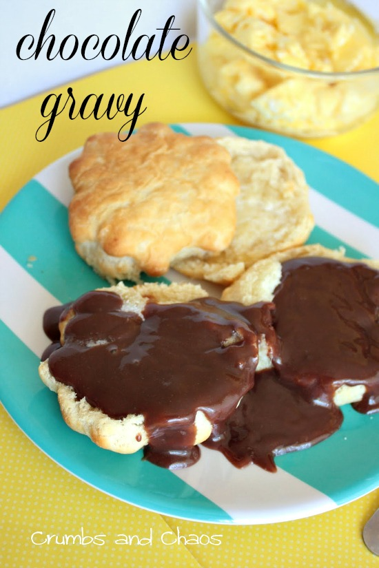 Chocolate Gravy | Crumbs and Chaos