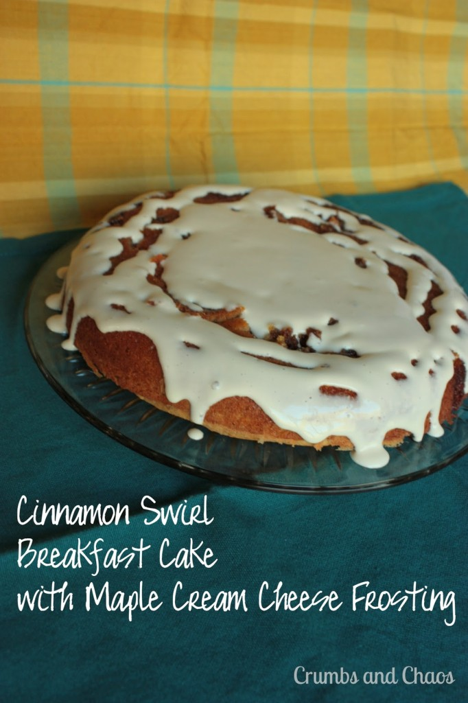 Cinnamon Swirl Breakfast Cake | Crumbs and Chaos