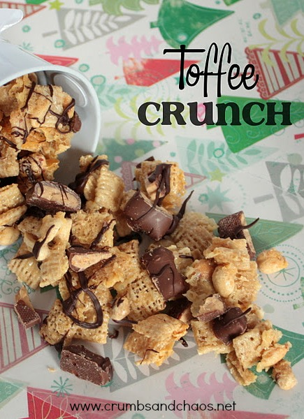 Toffee Crunch | Crumbs and Chaos #easy #snackmix  www.crumbsandchaos.net