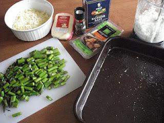 Quick Asparagus Lasagna