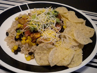 Burrito Bowl…or plate!