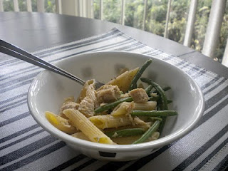 Pasta with Tuna and Green Beans