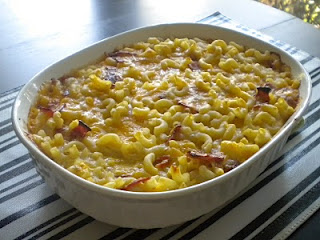 Three Cheese and Bacon Macaroni