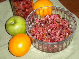 Mom's Cranberry Relish