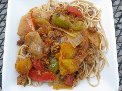 Crockpot Italian Sausage and Peppers