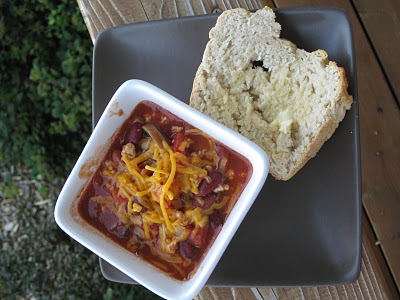 Fall in Love with Homemade Chili and Beer Bread