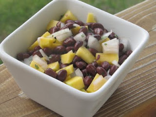 Mango and Black Bean Salsa