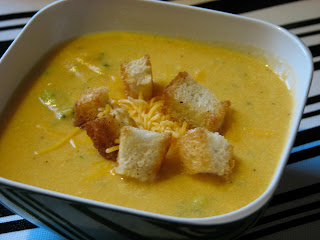 Broccoli Cheddar Potato Soup