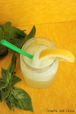 Mint & Basil Lemonade