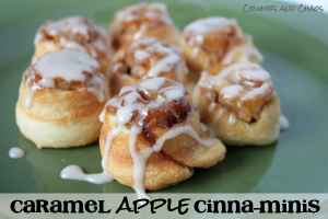 caramel apple cinna-minis