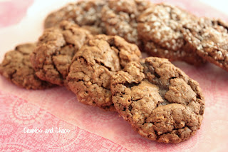 SRC: Chocolate Brownie Oatmeal Cookies