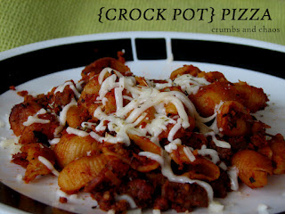 (Crockpot) Pizza