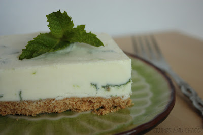 Lime-Mint Ice Cream Bars