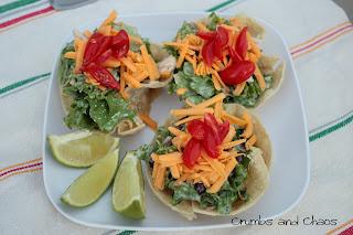(Mini) Chicken Taco Salads