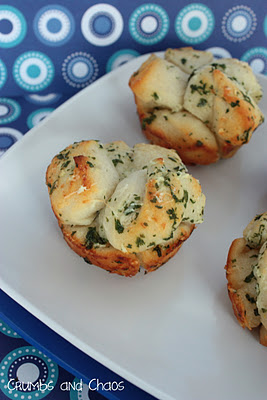 Mini Garlic Monkey Bread