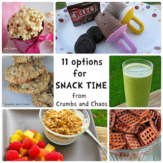 Let's Review: Snack Time!