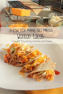 (How to) Make No-Mess Wonton Tacos