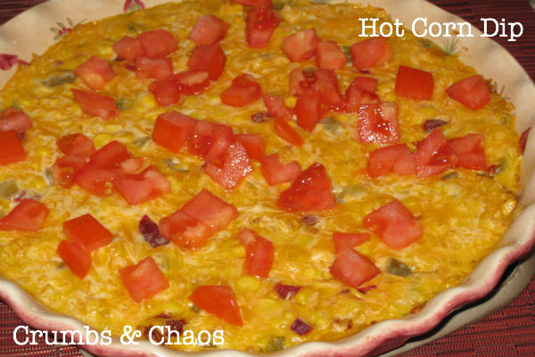 Hot Corn Dip - Crumbs and Chaos