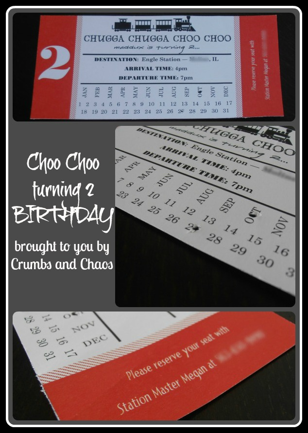{BIRTHDAYS} Choo Choo Train!