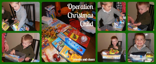 The Joy of Giving to Others – Operation Christmas Child #OCCGiving
