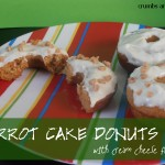Carrot Cake Donuts | Crumbs and Chaos #donuts #breakfast