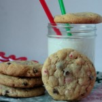 peppermint cheesecake cookies 1