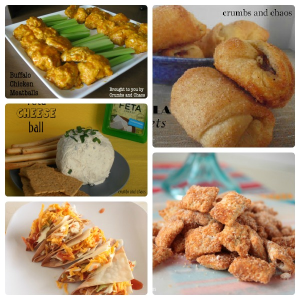 The Best of Snacks & Appetizers | Crumbs and Chaos  #snacks #appetizers   www.crumbsandchaos.net