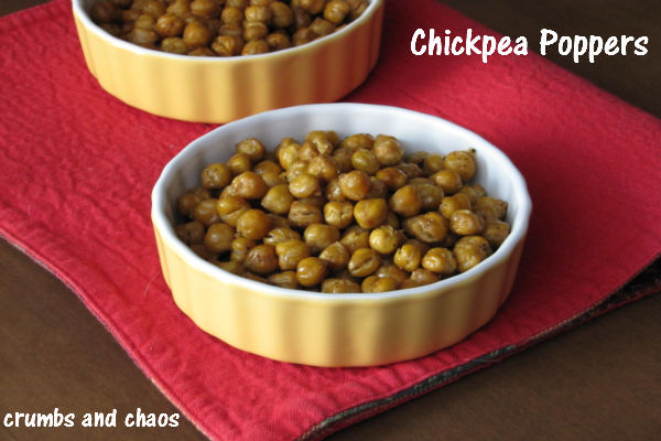 Chickpea Poppers - Crumbs and Chaos