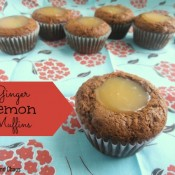 Ginger Lemon Muffins Recipe | Crumbs and Chaos