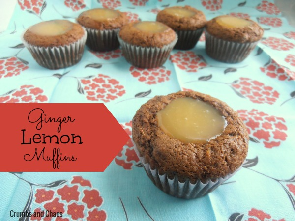 Ginger Lemon Muffins