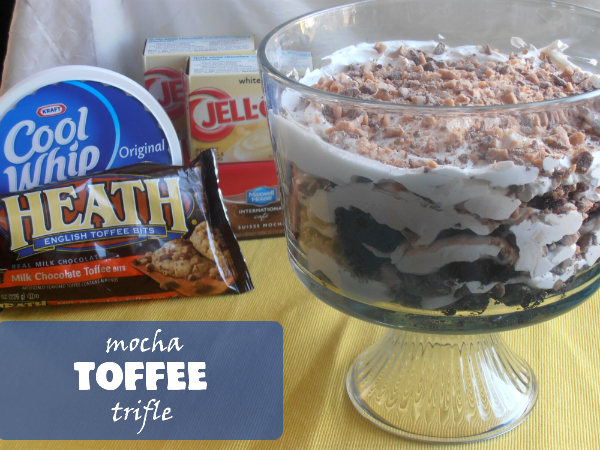 Mocha Toffee Trifle