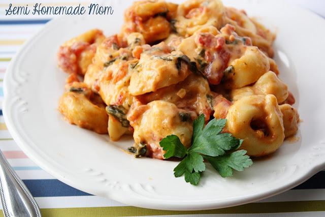 Creamy Tomato Tortellini Skillet 2
