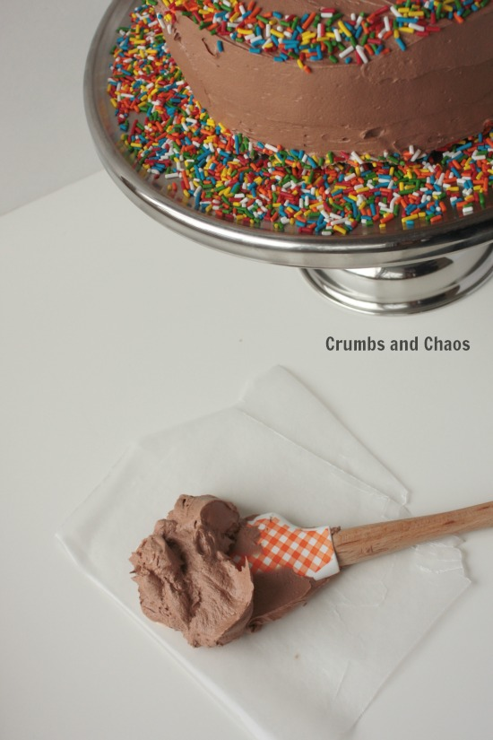 Nutella Cloud Frosting Recipe | Crumbs and Chaos
