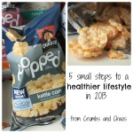 5 Small Steps to a Healthier Lifestyle #QuakerPopped