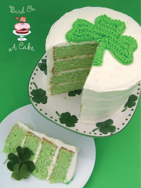 Key Lime Shamrock Cake3 logo