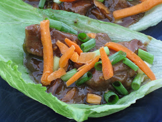 beef lettuce wraps