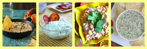 The Ultimate Queso, Salsa & Dip List brought to you by Crumbs and Chaos #cincodemayo #queso #salsa #appetizer