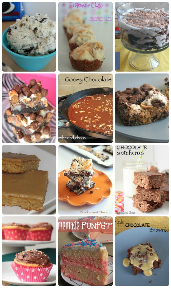 12 Desserts for Celebrating from www.crumbsandchaos.net