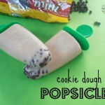 Cookie Dough Popsicles | crumbsandchaos.net | #popsicles #cookiedough