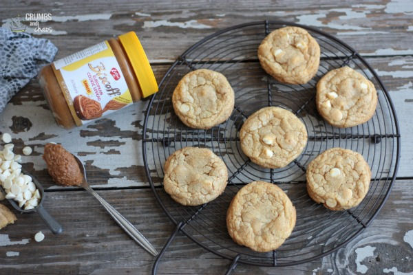Easy Biscoff Cookies