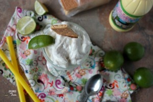 Key Lime Pie Milkshake | Crumbs and Chaos #keylime #milkshake #summer www.crumbsandchaos.net