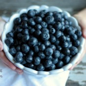 blueberries in bowl | Crumbs and Chaos