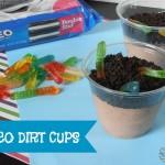 Oreo Dirt Cups | crumbsandchaos.net | #oreo #dessert #kids