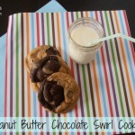 Peanut Butter Chocolate Swirl Cookies | crumbsandchaos.net | #peanutbutter #chocolate #cookies