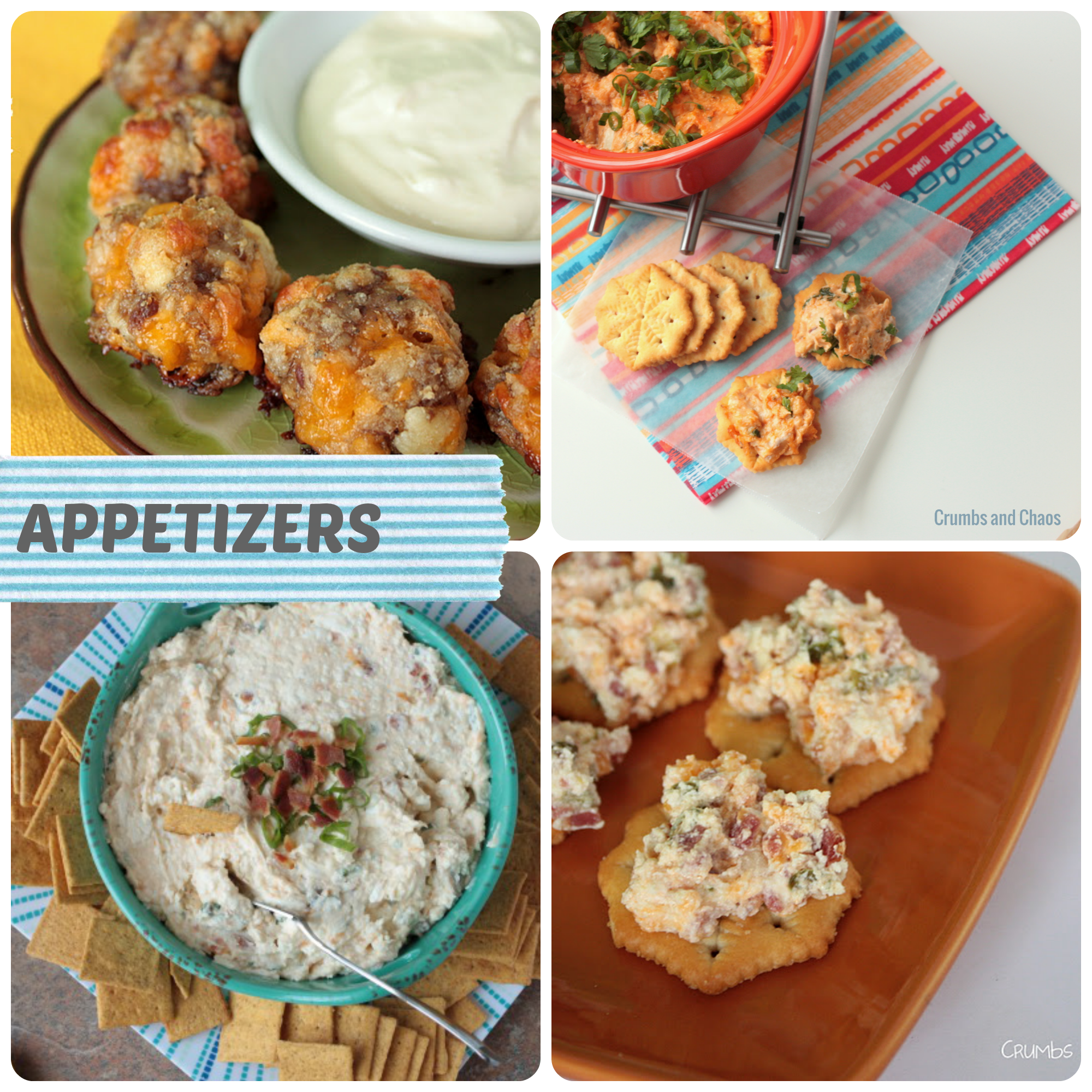 Cookout Appetizers | Crumbs and Chaos