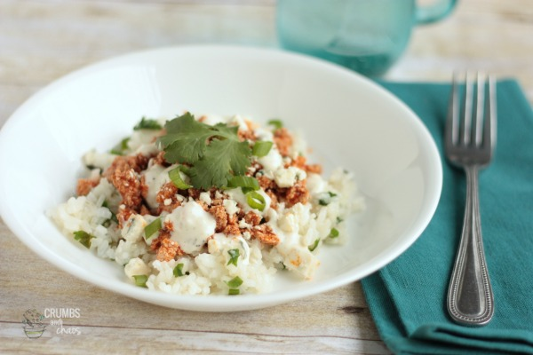 #ad Buffalo Chicken & Rice Bowl