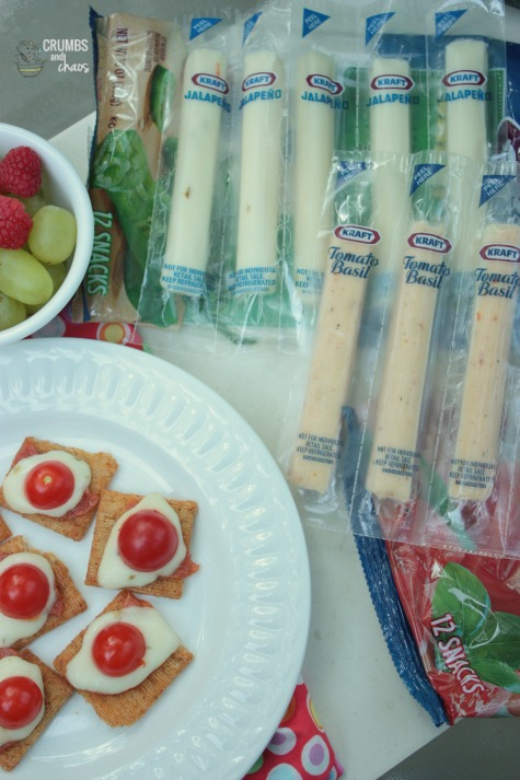 Quick and Easy Snack using Kraft String Cheese | Crumbs and Chaos
