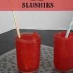 Kool-aid Slushies | crumbsandchaos.net | #koolaid #slushies #slurpee #drinks