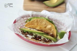 Crispy Pork Carnitas | Crumbs and Chaos #tacos #Mexicanfood #pork #maindish www.crumbsandchaos.net
