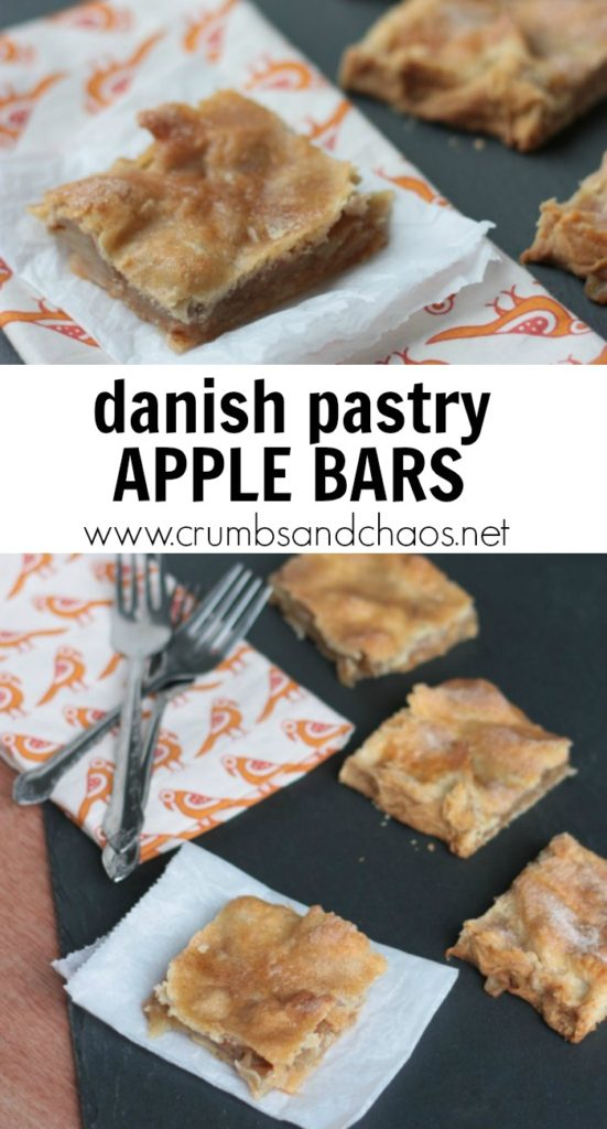 Perfect for a crowd, Danish Pastry Apple Bars are downright delicious!